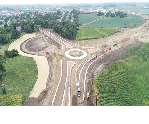 Highway 10 Project Roundabout