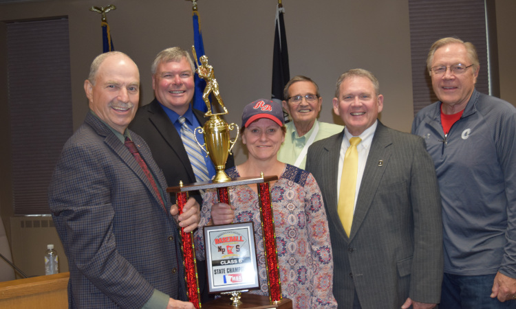 County Board recognizes Chanhassen Red Birds
