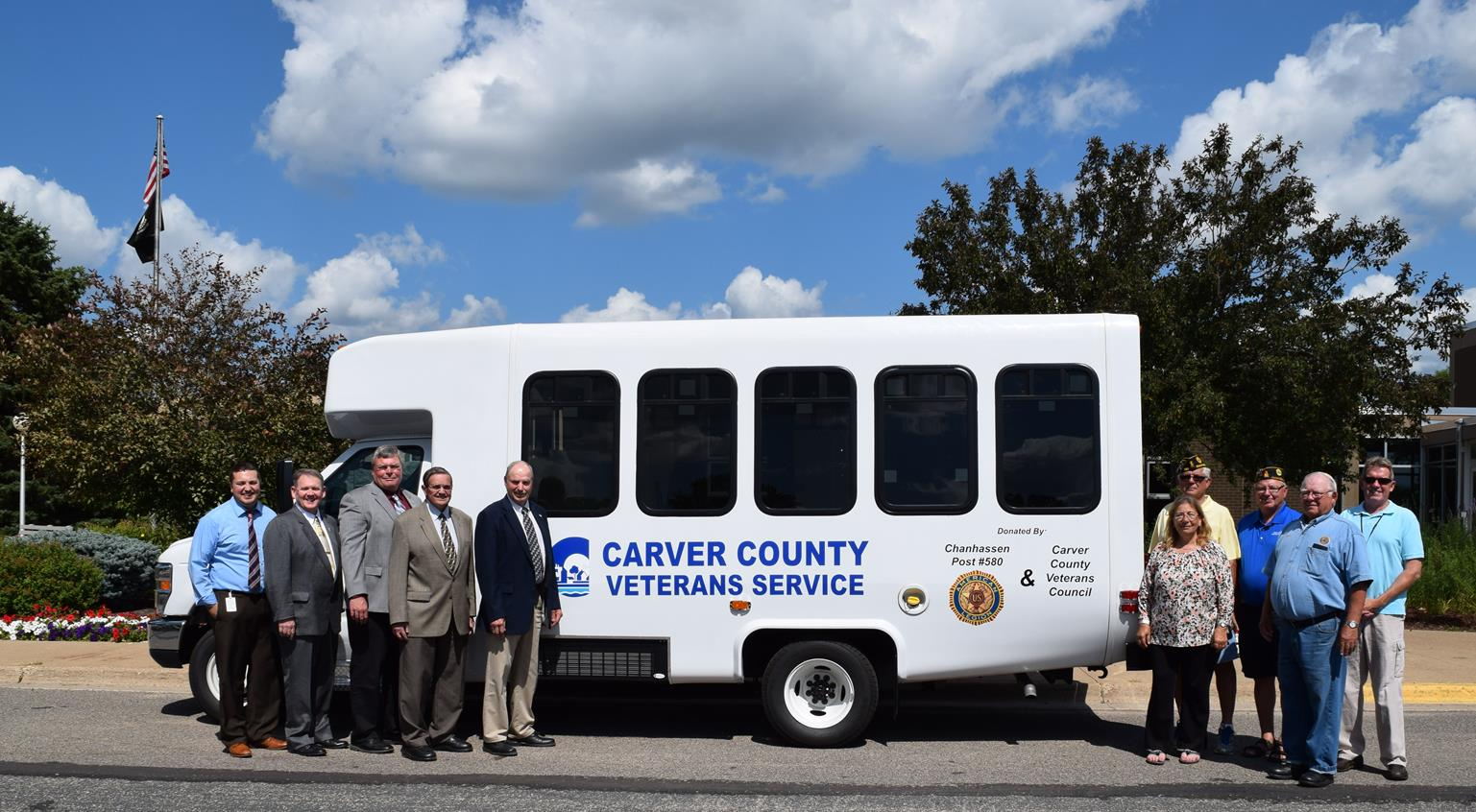 Veterans Services Bus