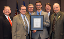 Board accepts award for RCP