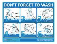 Don't Forget to Wash