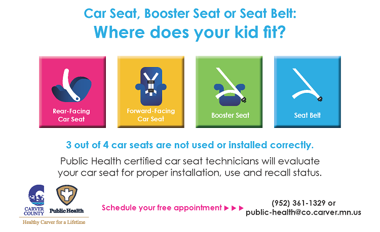 Car Seat Check Promotion Poster