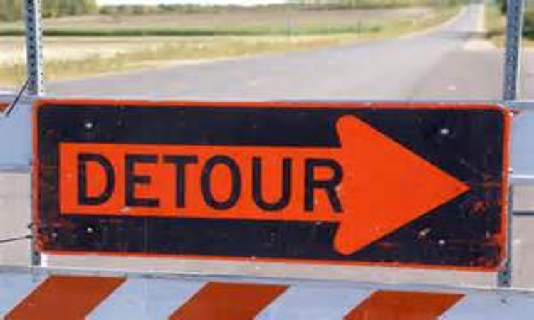 Highway 5 Closure at Orchard Road in Waconia
