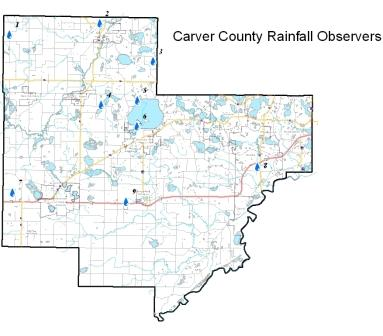 Precipitation data carver county mn rainfall observers sciox Image collections