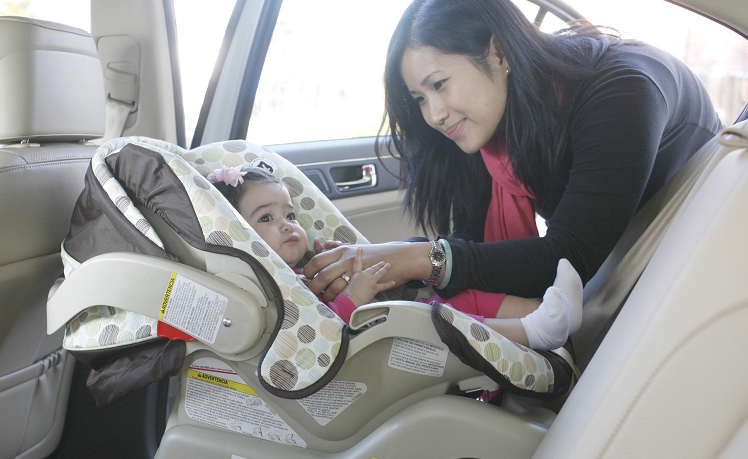 RF Car Seat with Caregiver