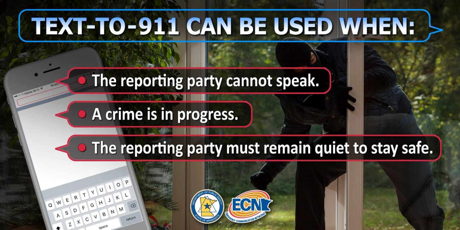 Text To 911 Can Be Used When