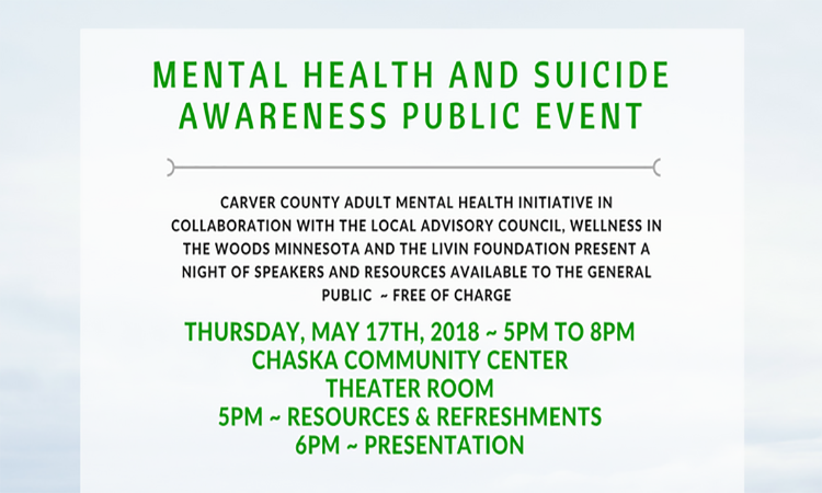 Mental Health and Suicide Awareness Public Event