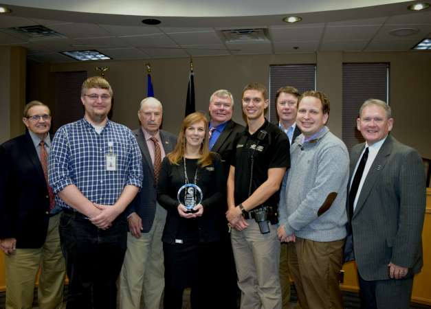 County Employees Recognized for Excellence