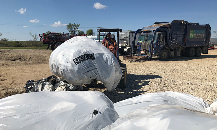 County Departments Partner To Recycle Ag Plastics