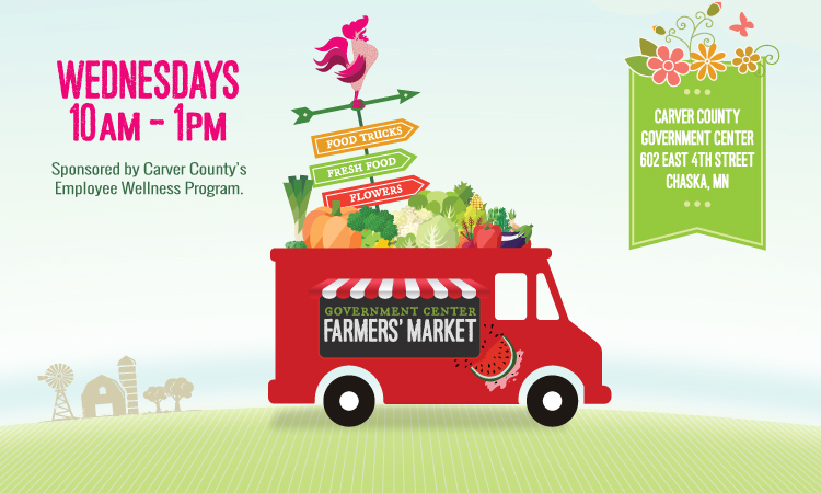 Government Center's Farmers' Market Begins July 10