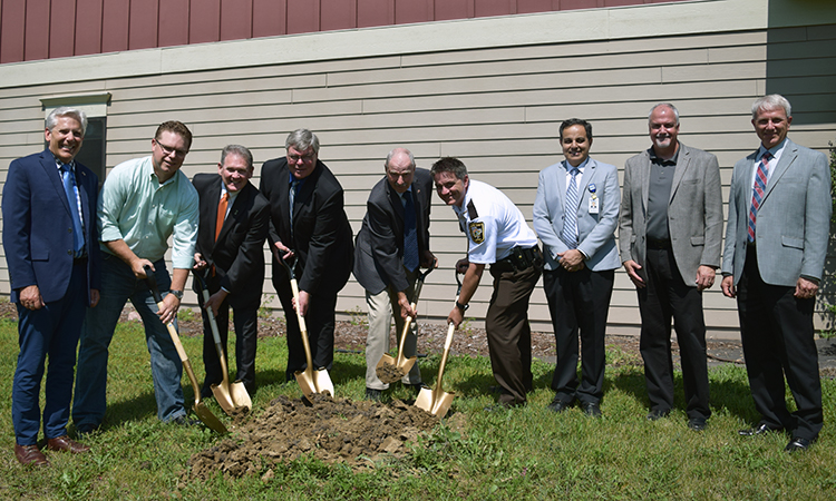 Mental health and wellness facility, groundbreaking