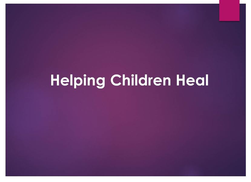 Helping Children Heal