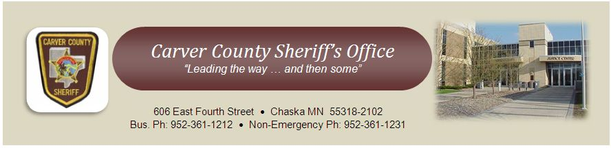 County Sheriff | Carver County, MN