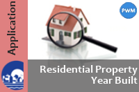 Webmap: Residential Property Year Built