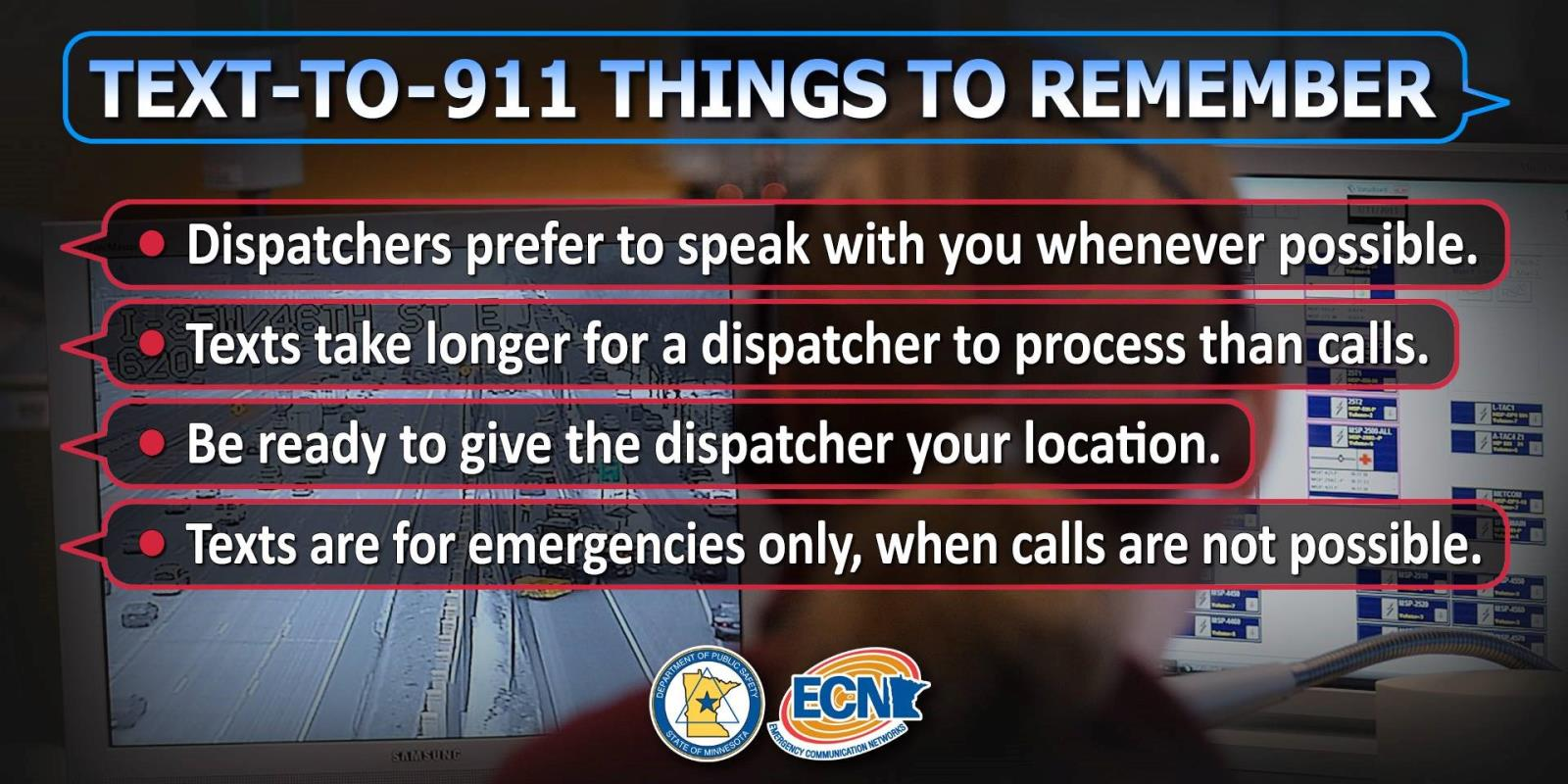Text To 911 Things To Remember