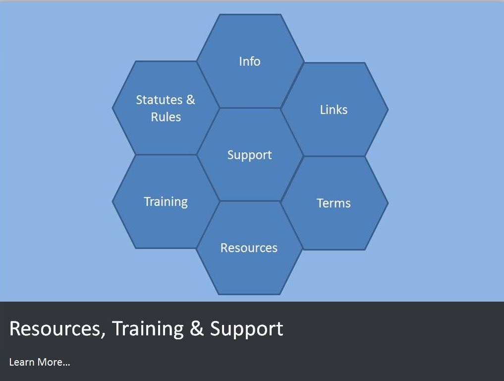 Resources Training and Support
