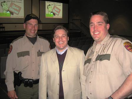Mark with Enforcement Officers