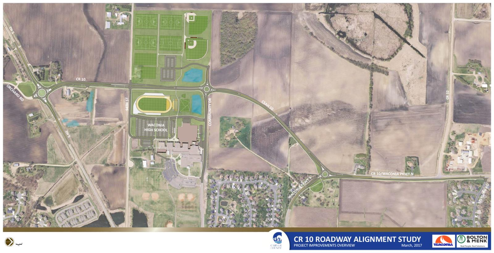 Highway 10 Project - Waconia School | Carver County, MN